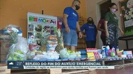 Busca por ajuda em entidades assistenciais cresce até 250% em Campinas
