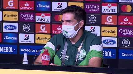 Confira a coletiva do Palmeiras com Gustavo Gómez e Abel Ferreira, antes da final contra o Santos
