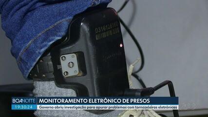 Governo do Paraná investiga atraso na entrega de tornozeleiras eletrônicas
