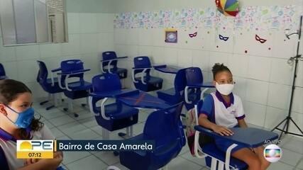 Escolas particulares dão ínicio ao ano letivo com aulas híbridas