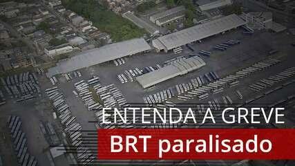Greve no BRT: entenda o que levou à paralisação