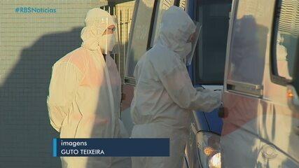 Pacientes com Covid-19 serão transferidos de Manaus, no Amazonas, para hospitais do RS