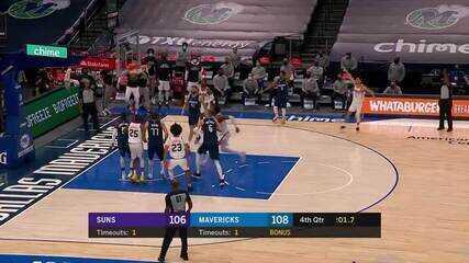 Devin Booker faz cesta da virada dos Suns a um segundo do fim da partida