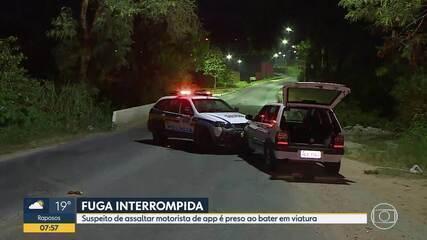Motorista de aplicativo é assaltado em Santa Luzia