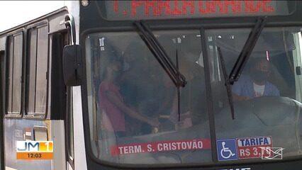 Frota de ônibus será ampliada em horários de pico para evitar aglomerações em São Luís