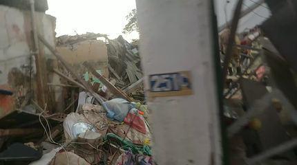 Após explosão, casas desabam na Zona Leste de Natal; quatro pessoas morrem
