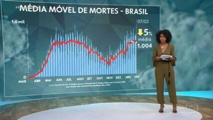 Total de mortes por Covid no Brasil chega a 231.561, aponta consórcio de imprensa