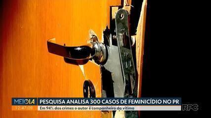 Pesquisa do Tribunal de Justiça analisa 300 casos de feminicídio no Paraná