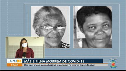 Mãe e filha morrem de Covid-19 no mesmo dia, em Pombal, PB