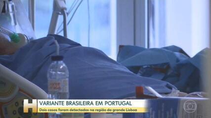 Portugal detectou dois casos da variante brasileira do novo coronavírus