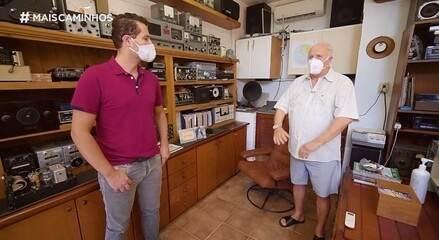 Pedro Leonardo descobre as origens do rádio em Campinas (SP)