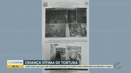 Casa onde menino era torturado em barril era abastecida com alimentos e roupas