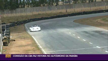 Comissão da CBA faz vistoria no autódromo da Paraíba