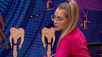 Carla Diaz declara para Arthur sobre atitude no BBB21: 'Acho que você deu um tiro no pé'