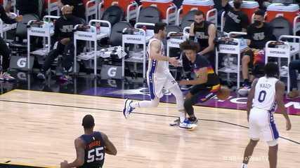 Melhores momentos de Phoenix Suns 120 X 111 Philadelphia 76ers, pela NBA