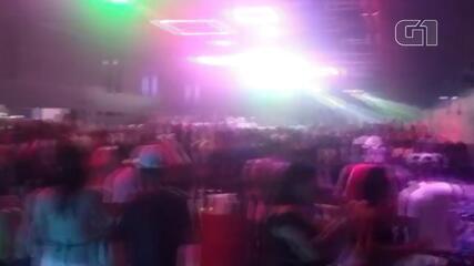 Casa noturna registra aglomeração em Palhoça