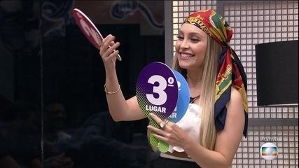 Carla Diaz conta qual o pódio e quem não tem a menor chance de vencer o BBB21