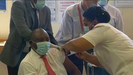 África do Sul começa campanha de vacinação contra Covid-19