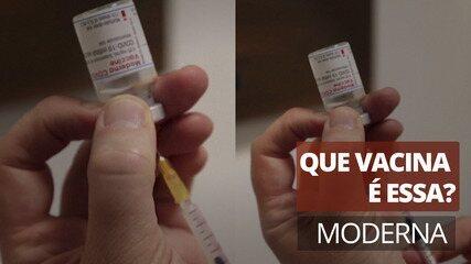 Que vacina é essa? Moderna