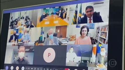 Governadores se reúnem com ministro Pazuello e cobram cronograma de vacinação