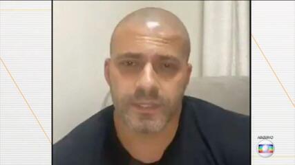 Câmara dos Deputados em compasso de espera para audiência de custódia de Daniel Silveira