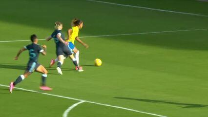 Melhores momentos: Brasil 4 x 1 Argentina pela 1ª rodada do Torneio She Believes