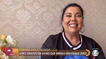Fabiana Karla lança filme em que Lucicreide vai para Marte