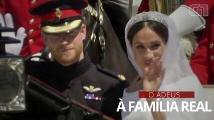 Relembre a trajetória do casal Príncipe Harry e Meghan Markle até deixar a Família Real