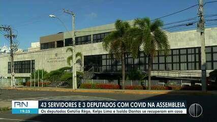 Assembleia Legislativa registra 46 casos de Covid