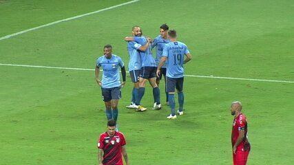 O gol de Grêmio 1x0 Athletico, pela 37ª rodada do Brasileirão 2020/21