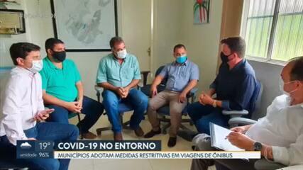 Três municípios do Entorno anunciaram novas medidas de prevenção à Covid-19