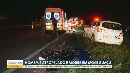 Enterro de jovem morto ao prestar socorro a amiga em Mogi Guaçu causa comoção