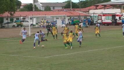 O gol de Parnahyba 1 x 0 Picos pela 1ª rodada do Piauiense 2021