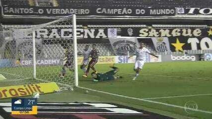 Santos empata com o Fluminense e garante vaga na Pré-Libertadores