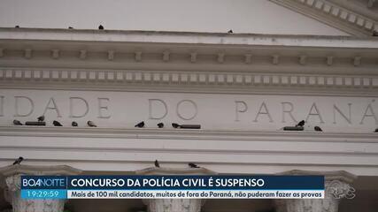 Após suspensão do concurso da Polícia Civil, vestibular da UFPR também é suspenso