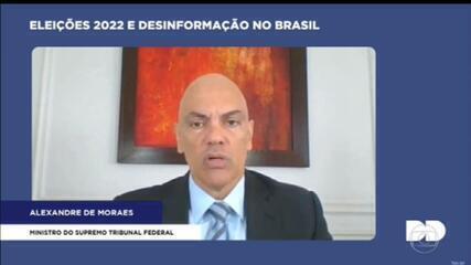 Ministro Alexandre de Moraes defende punição rigorosa para postagens ofensivas