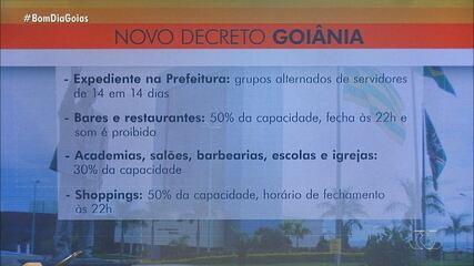 Decreto de Goiânia limita a abertura da Região da 44 e reduz horário de bares