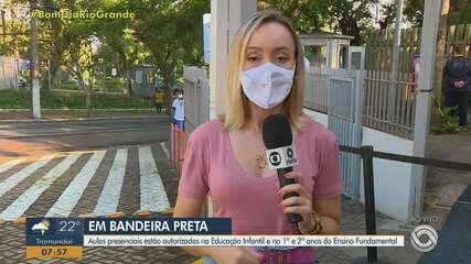 Aulas presenciais estão autorizadas na educação infantil e fundamental em Porto Alegre