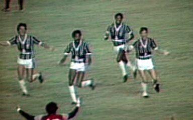 Em 1984, Fluminense vence Flamengo e conquista o Campeonato Carioca