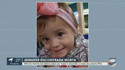 Mãe da menina Ísis Helena é encontrada morta na Penitenciária de Tremembé nesta terça (23)