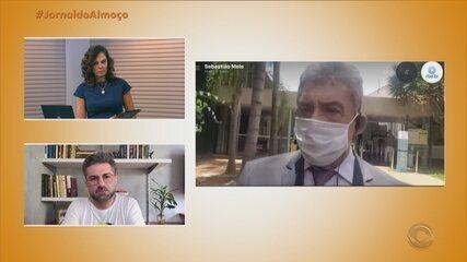 Prefeito da Capital, Sebastião Melo, fala sobre novas medidas de restrição à Covid-19
