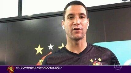 Thiago Neves fala sobre permanência no Sport e desejo de jogar com André
