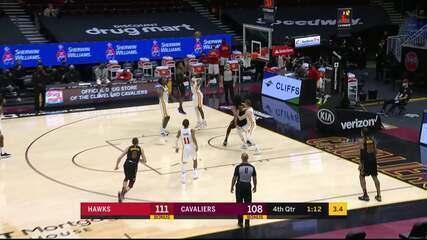 Melhores momentos: Cleveland Cavaliers 112 x 111 Atlanta Hawks pela NBA