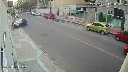 Assaltante foi atropelado após assaltar jovem em Vila Velha