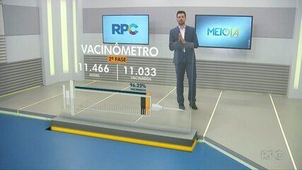 Foz do Iguaçu aplicou até agora 11.033 doses das vacinas contra Covid-19