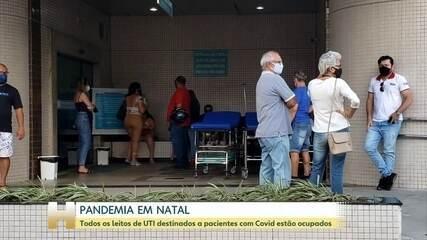 Rio Grande do Norte tem fila de espera para internação em UTI Covid