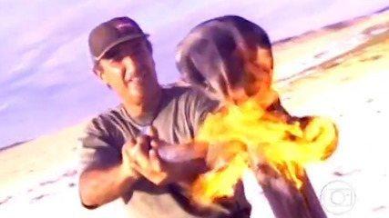 Primeira tarefa do 'No Limite (2000)' valia o elemento do fogo