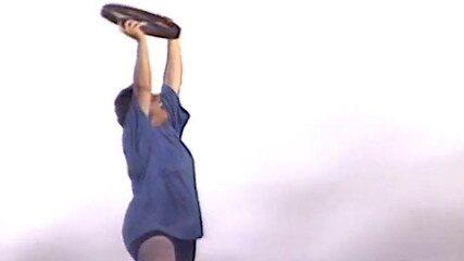 Elaine vence a prova final do 'No Limite (2000)'