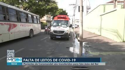 São João del Rei recebe pacientes com Covid-19 transferidos de Coromandel