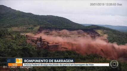 Brumadinho: PF conclui perícia sobre o que causou liquefação e rompimento de barragem